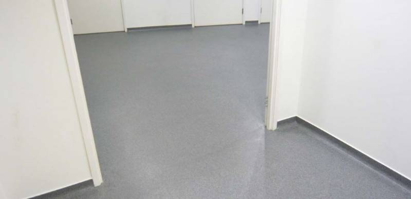 Resin flooring system Elladur™ Deco Quartz SF