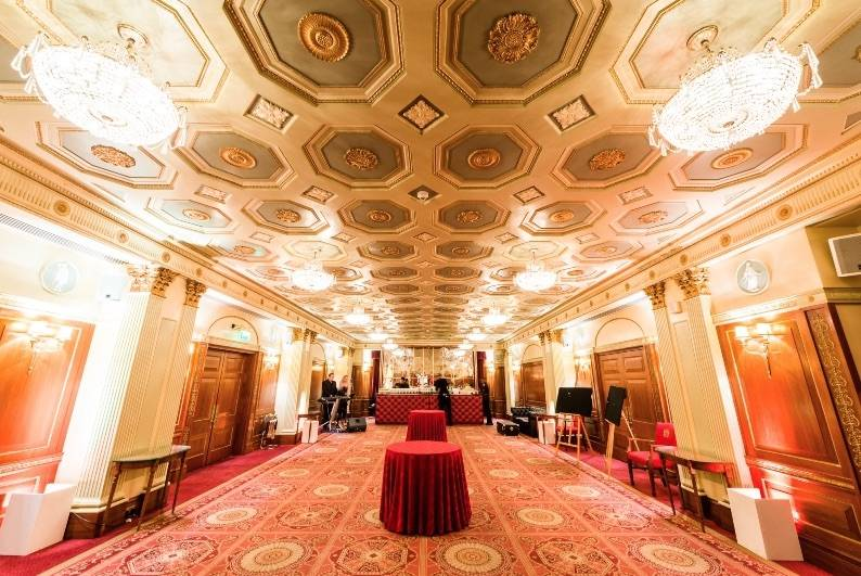 Plaisterers Hall - F. Ball products save luxury London event venue from flood damage