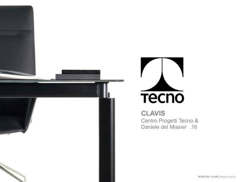 Tecno Clavis - Desks