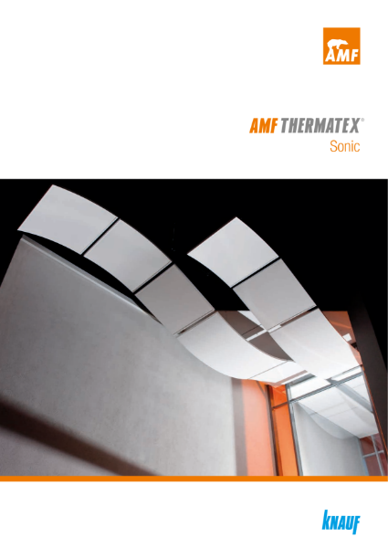 AMF THERMATEX® Sonic Ceiling rafts