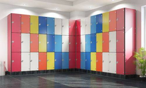 Olympus Laminate Lockers (Wet Areas)