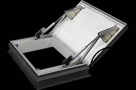 160 AOV Polycarbonate -Roof top smoke ventilator