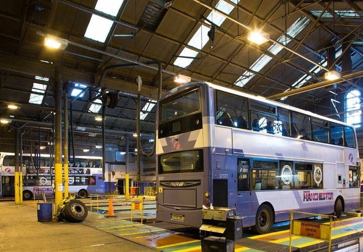 First Bus Depot, Manchester