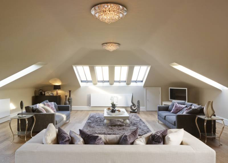 Clement slate profile conservation rooflights look wonderful in this Grade II* Listed mansion