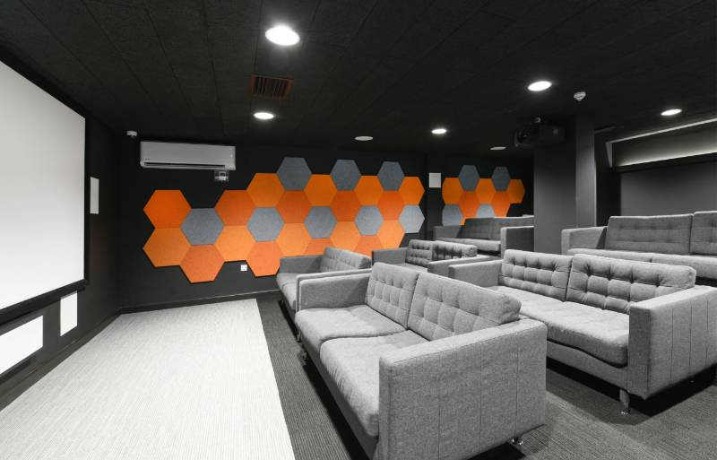 Class A Acoustics for New Student Environment