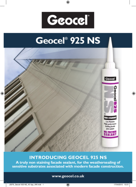 Geocel 925 NS Non-Staining Building Facade Joint Sealant