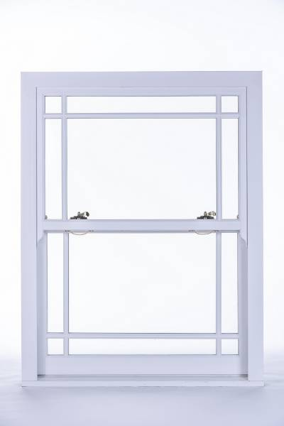 Heritage Rose Sash Window - Single