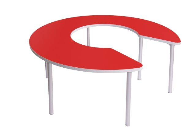 Enviro Classroom Tables -Keyhole