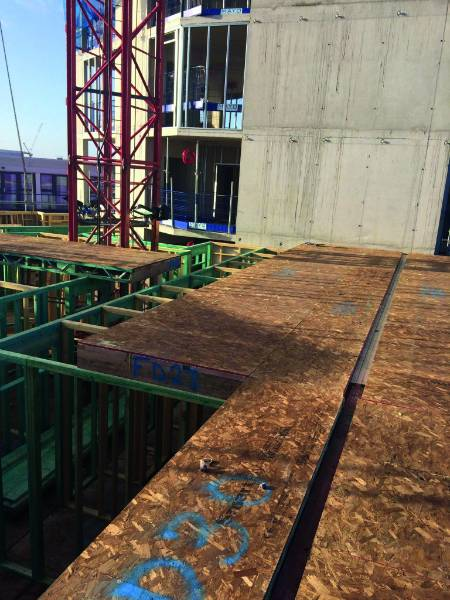 SMARTPLY FR/FR Build  (Flame Retardant) OSB3 flooring pave the way for new Students in Liverpool