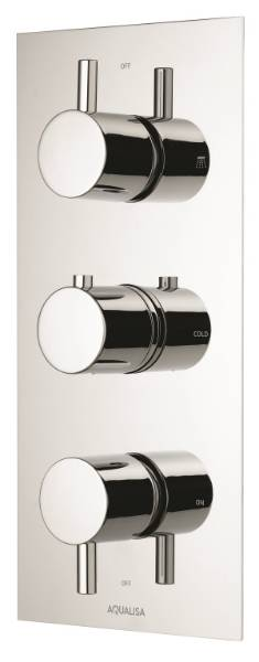 RISEDCV - Dual Outlet Mixer Shower (Valve only)