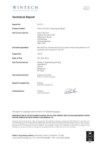 PAS24 Certification