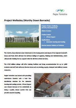 Project Wellesley (Worthy Down Barracks)