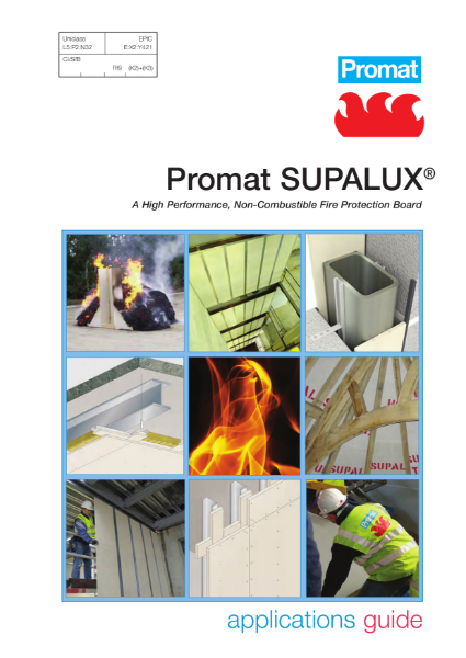Promat SUPALUX® Application Guide - 4 hours fire protection
