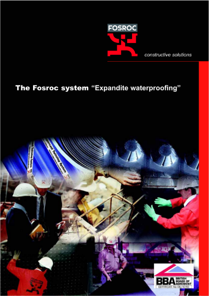 Fosroc Expandite Waterproofing