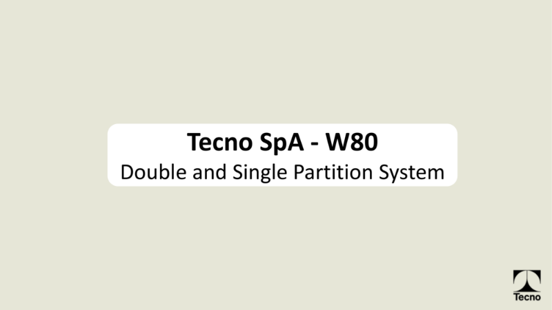 Tecno W80 Double and Single Partition system