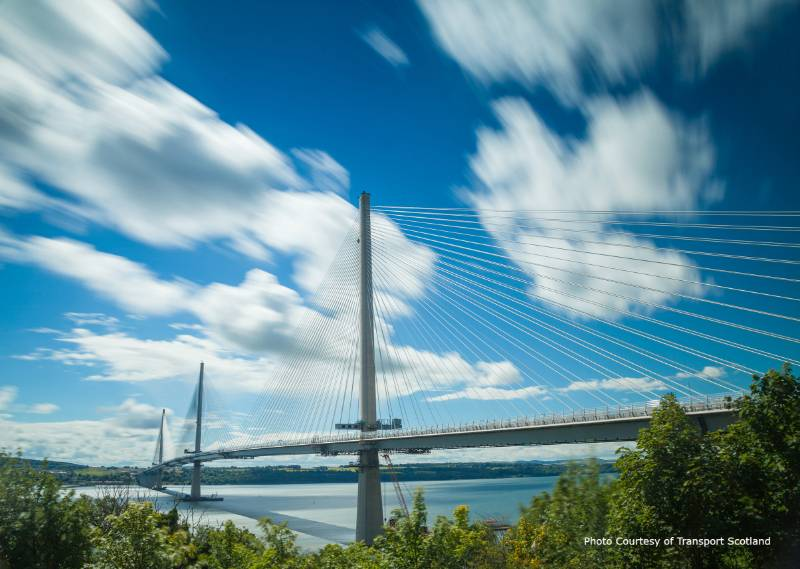 Queensferry Crossing, Forth Estuary, Scotland