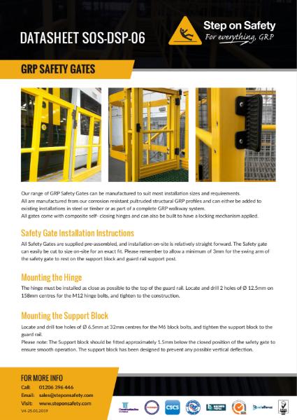 GRP Access Safety Gates