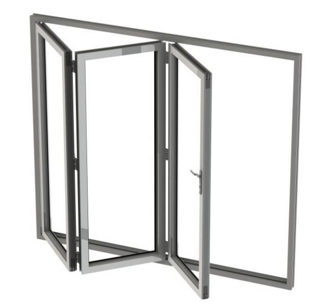 PVC-U Bi-fold Door