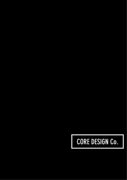 CORE DESIGN Co. Product Brochure