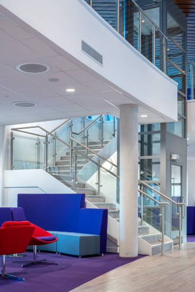 Stair Edgings - Caudwell Children's Centre