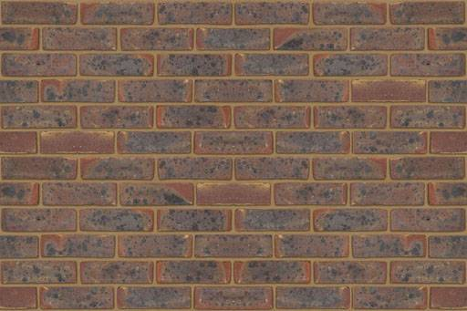West Hoathly Dark Multi Stock - Clay bricks