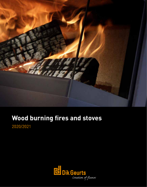 Dik Geurts wood fires and stoves brochure 2021