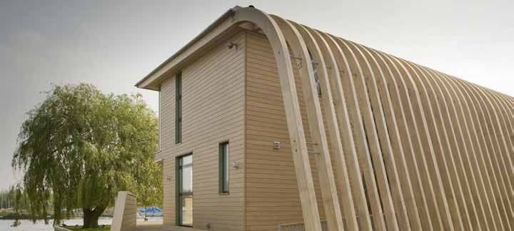 Accoya Cladding ( Natural, Factory Painted, Charred burnt and oiled Accoya) SertiWOOD®