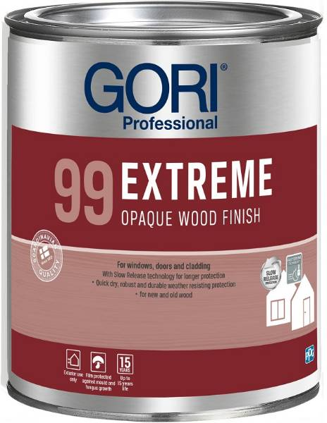 GORI 99 Extreme Opaque Wood Finish