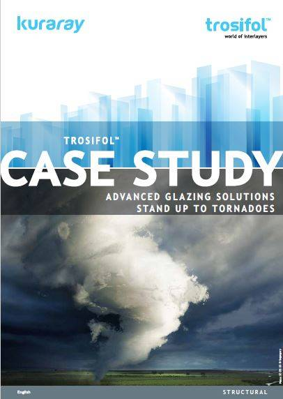 Advanced glazing solutions stand up to Tornadoes Tornadoes can be devastating, but with certified architectural glazing in place, huge amounts of damage can be mitigated leading to less costly clearup