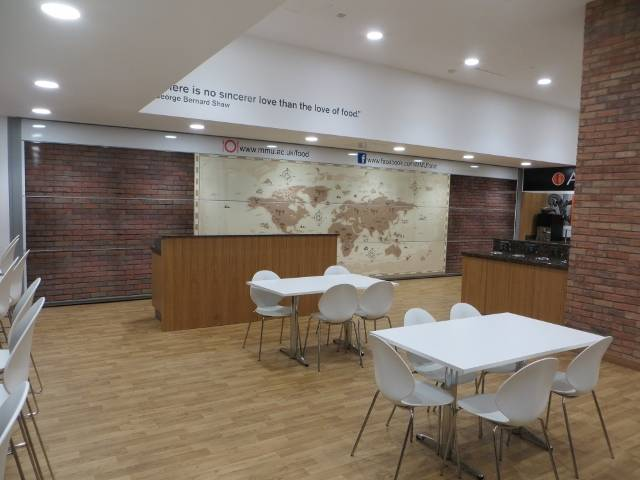Manchester Metropolitan University 1st Hufcor 'Summit' wall in Europe