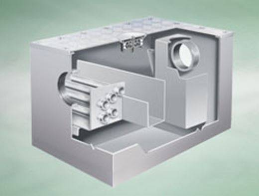 Below-ground grease separators and converters