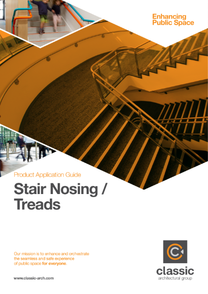 Product Application Guide - Stair Noising or Threads
