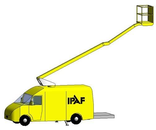 Static Boom Vehicle Mounted
