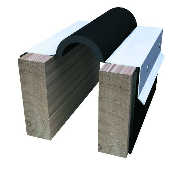 674 Series Roof to Wall Expansion Joint System