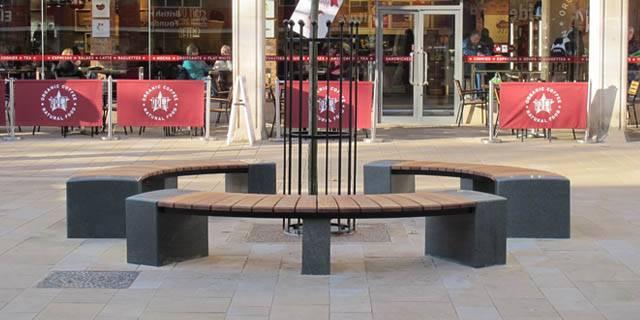 Bespoke benches enhance public realm at Long Causeway