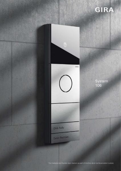 Gira Door Communication System 106