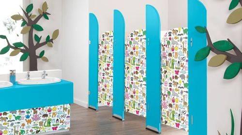 Sydney® Pre-School Toilet Cubicles