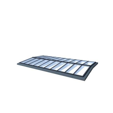 Ridgelight 5° with beams