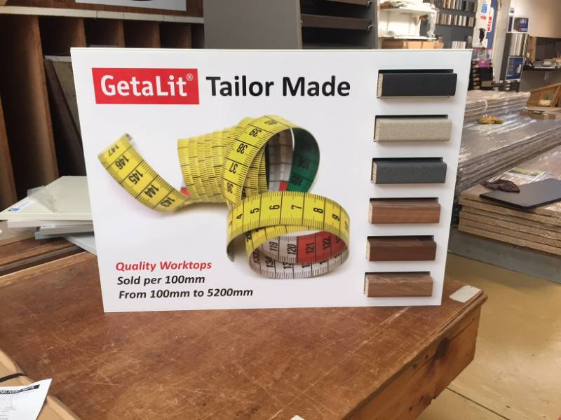Tailor Made Getalit Worktops