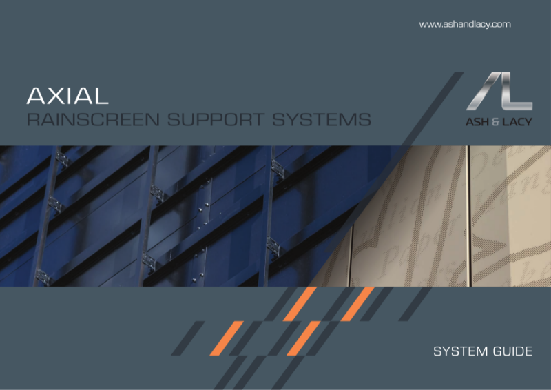 AxiAL Rainscreen Support Systems