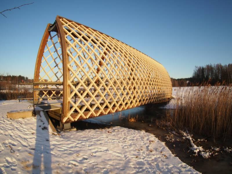 Accoya chosen for Niittysilta bridge in Finland