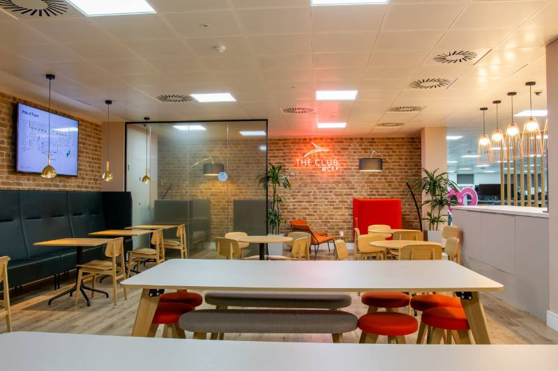 Brick Wall Panels at London Office