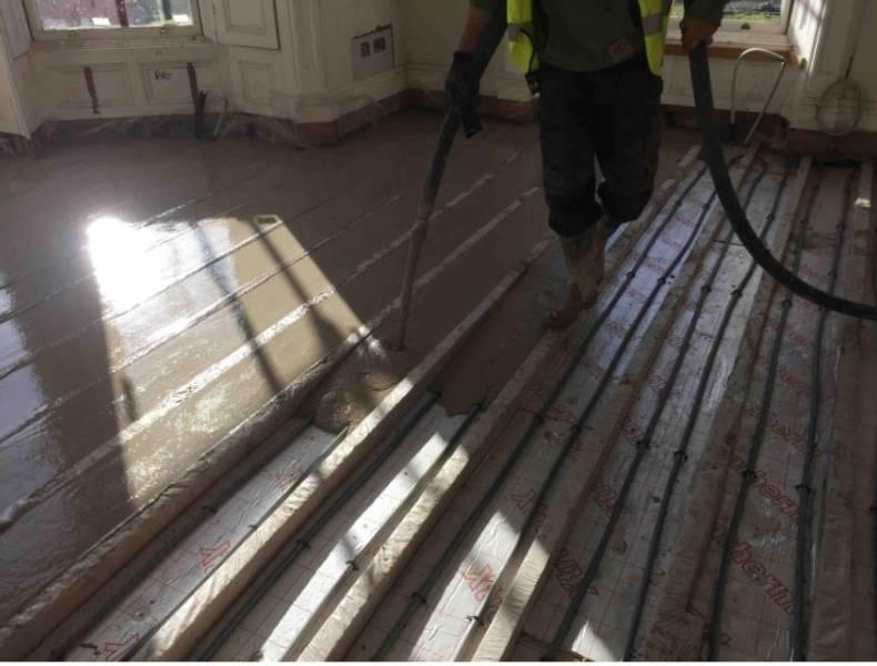 SMET LiteFlo® | Floor Renovation in Dalkey, Co Dublin