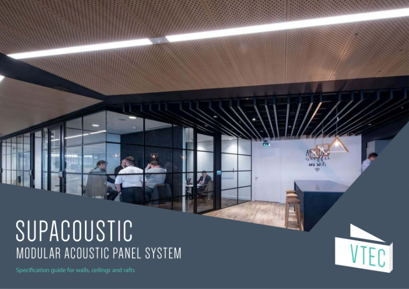 Supacoustic Specification Guide - Perforated Acoustic Panel System for Walls, Ceilings and Rafts