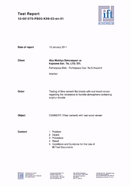 Test report 10-001070-PB03-K99-03-en-01