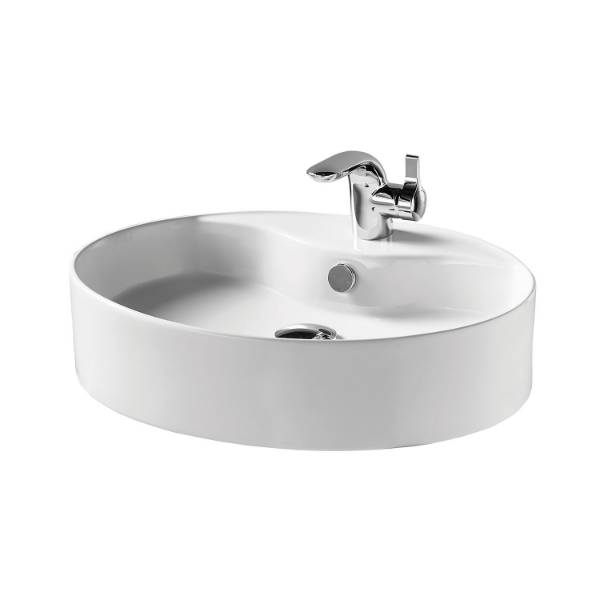 Ofanto 55 cm Vessel Washbasin, One Tap Hole