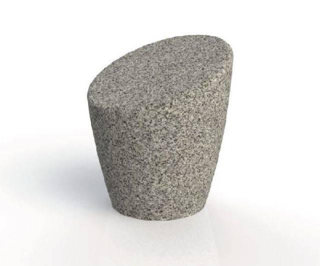 ASF Organic Features Granite Seat/ Bollard