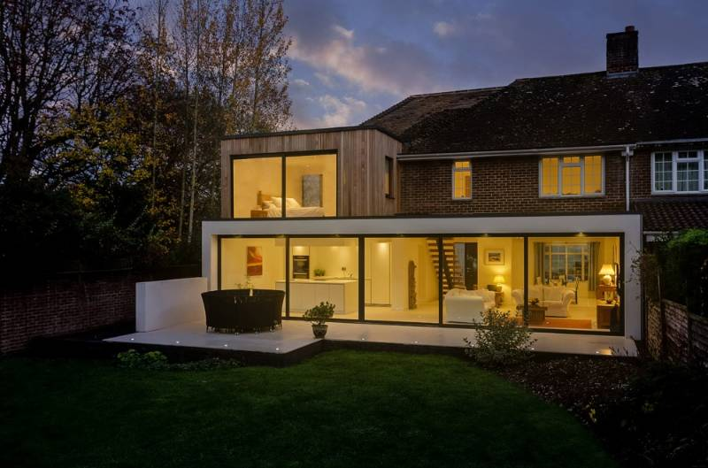 Beckett House | Transformed rural farm workers cottage - Winchester, Hampshire