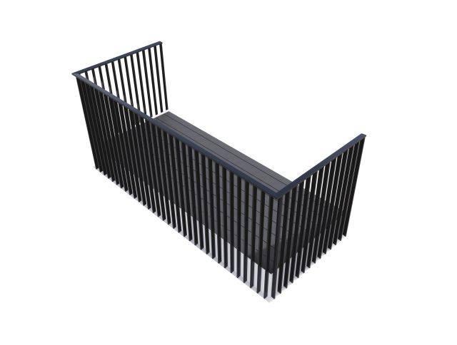 Cobalt PB Balcony System - Corner