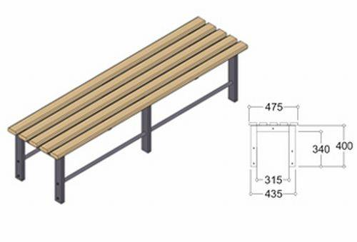 Freestanding Benching